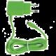 CELLY cestovní nabíječka microUSB, 1A, zelená