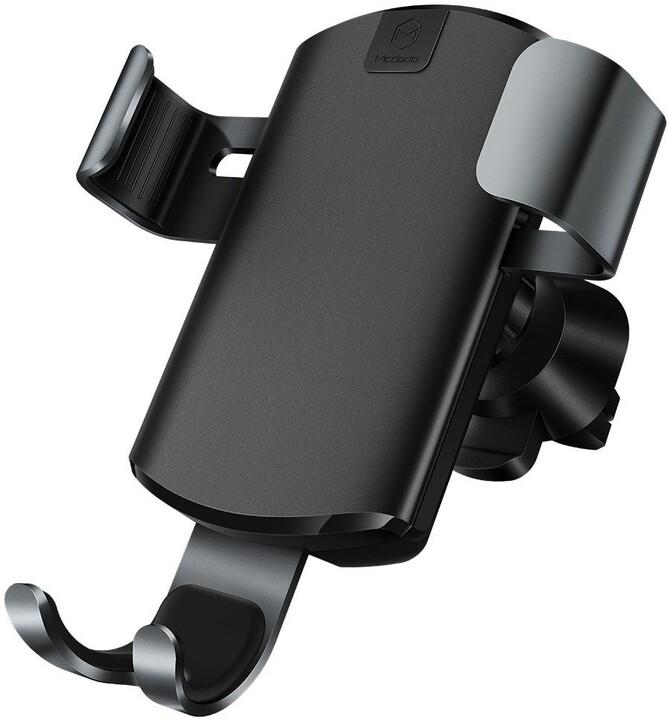 Mcdodo držák Gravity, bezdrátové nabíjení, 7.5W/10W, černá