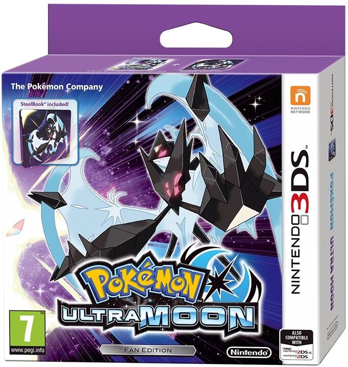 Pokémon Ultra Moon - Steelbook Edition (3DS)