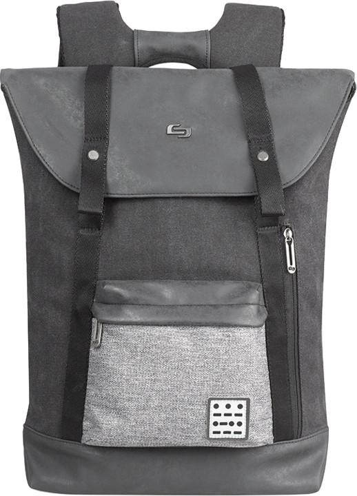 "Solo Momentum Backpack 15,6"" batoh, černá/šedá"