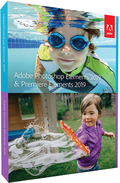 Adobe Photoshop Elements + Premiere Elements 2019 ENG