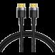 BASEUS kabel Cafule Series, HDMI 2.0, M/M, 4K@60Hz, 2m, černá