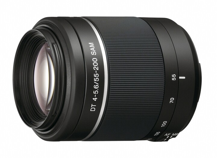 Sony DT 55–200mm f/4–5.6 SAM II