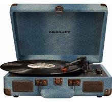 Crosley Cruiser Deluxe, denim - CR8005D-DE