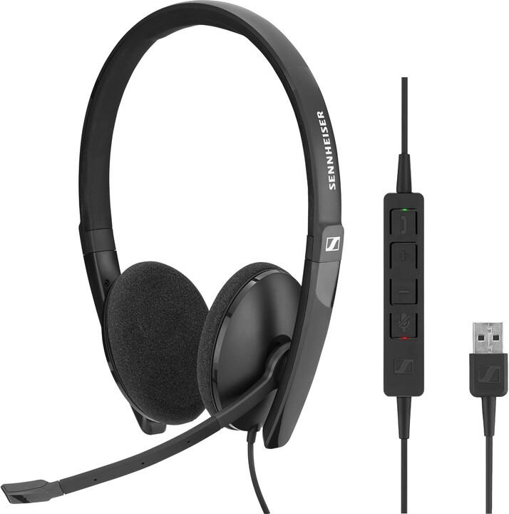 Sennheiser SC160 USB-C, černá