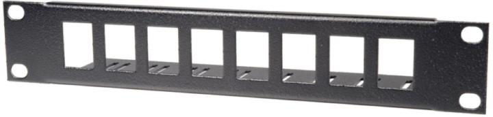 "Triton patch panel RAB-PP-X01-C1, 10"", 8 portů, modulární"
