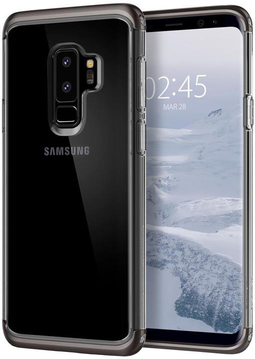 Spigen Neo Hybrid Crystal pro Samsung Galaxy S9+, gunmetal