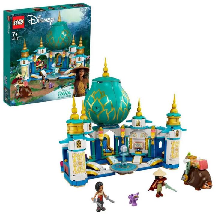 LEGO® Disney Princess 43181 Raya a Palác srdce