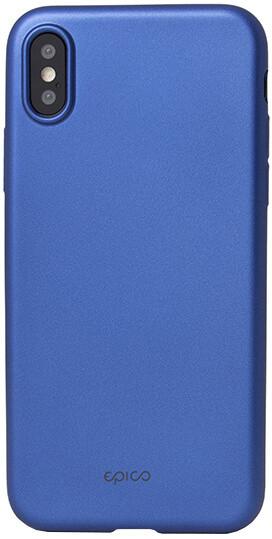 EPICO GLAMY pružný plastový kryt pro iPhone X - modrý