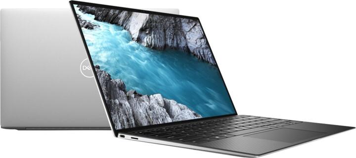 Dell XPS 13 (9300) Touch, stříbrná-černá