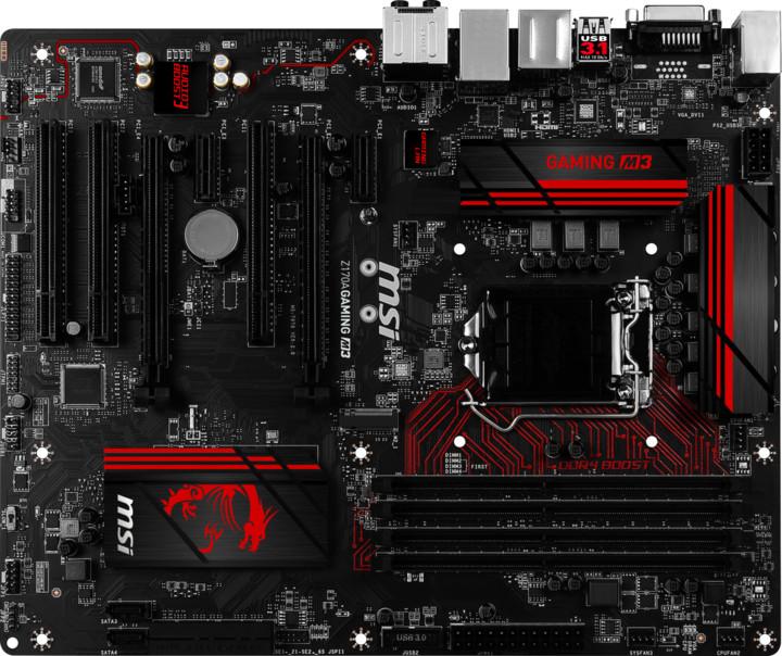 MSI Z170A GAMING M3 - Intel Z170