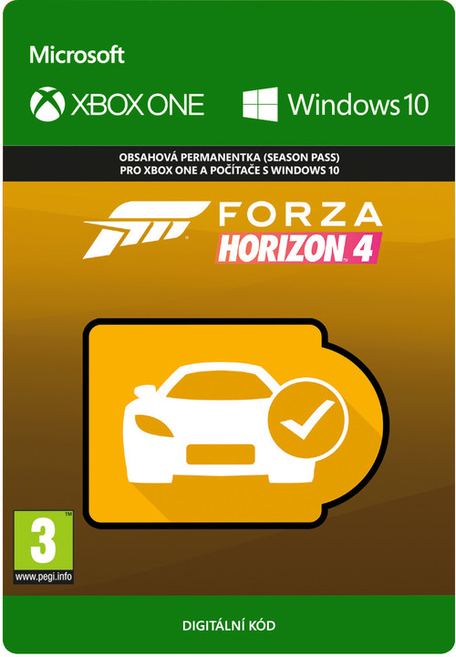 Forza Horizon 4 - Car Pass (Xbox Play Anywhere) - elektronicky
