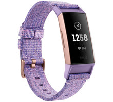 Fitbit Charge 3, lavander, Special Edition