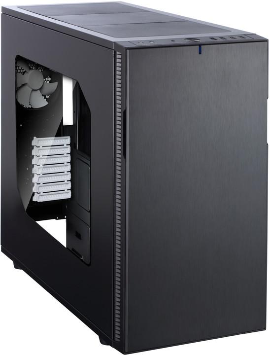 Fractal Design Define R5, okno, černá