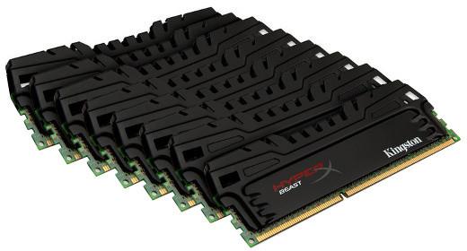 Kingston HyperX Beast 64 (8x8GB) DDR3 1866 XMP
