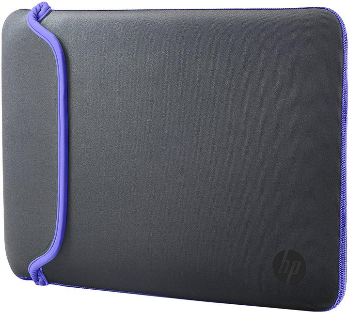"""HP 15,6"""" Pouzdro Neoprene Sleeve šedá / fialová"""