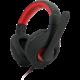 C-TECH Nemesis V2 GHS-14R, černá/červená  + Mikrofon C-TECH MIC-01 v ceně 250 Kč