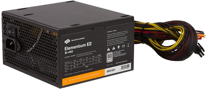 SilentiumPC Elementum E2, 450W, bulk