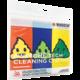 WHOOSH! Awesome Tech Cleaning Cloth - antibakteriální mikrovláknová útěrka - balení 3 ks