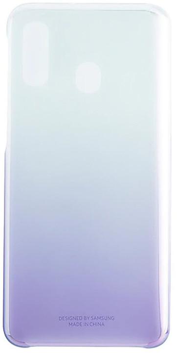 Samsung GradationCover Galaxy A40, fialová