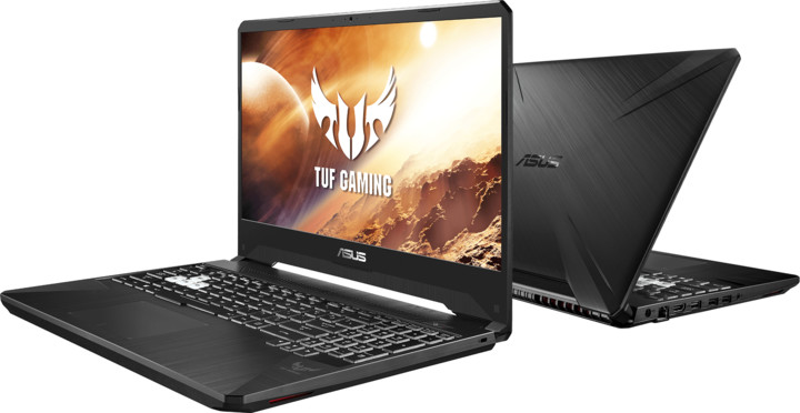 ASUS TUF Gaming FX705DT, černá