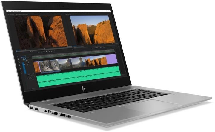 HP ZBook 15 Studio G5, stříbrná