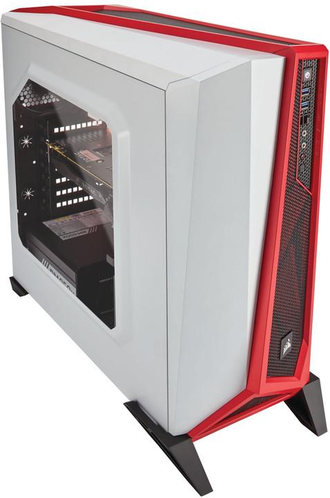 Corsair Carbide SPEC-ALPHA, bílo-červená