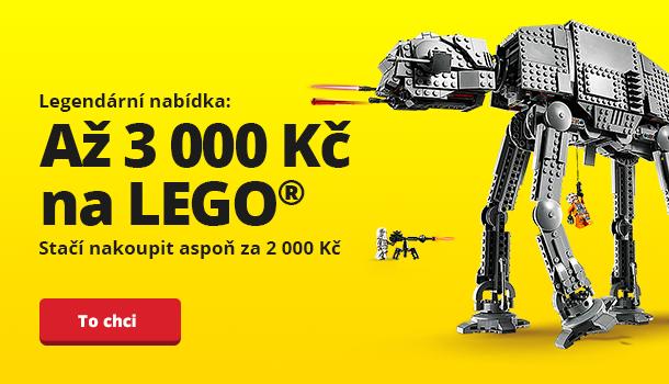 Získejte až 3 000 Kč na LEGO®