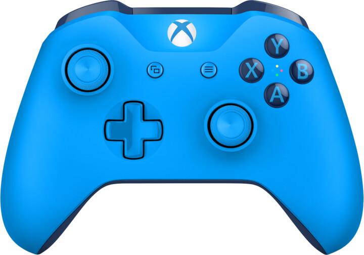 Xbox ONE S Bezdrátový ovladač, modrý (PC, Xbox ONE)