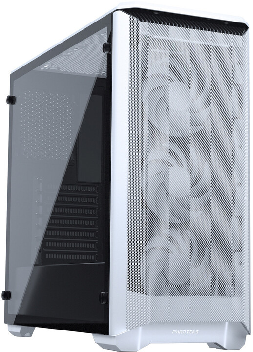 PHANTEKS Eclipse P400A, Tempered glass, DRGB, bílá