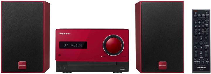 Pioneer X-CM35-R, červená