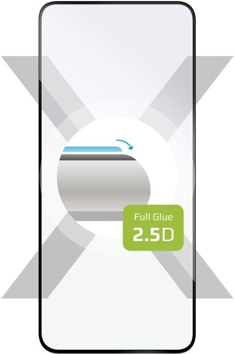 FIXED ochranné tvrzené sklo Full-Cover pro Honor View 30, lepení přes celý displej, černá