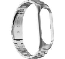 Epico ocelový řemínek pro Xiaomi Mi Band 6, stříbrná
