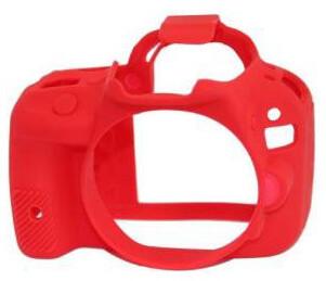 Easy Cover silikonový obal pro Canon 100D, červená