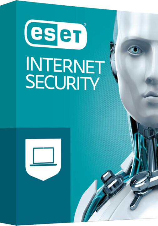 ESET Internet Security pro 2 PC na 3 roky