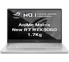 ASUS ROG Zephyrus G14 GA401QM AniMe Matrix, bílá Ponožky CZC.Gaming Shapeshifter, 39-41, černé/červené - v hodnotě 199 Kč + Servisní pohotovost – vylepšený servis PC a NTB ZDARMA + Šest měsíců členství GeForce NOW Founders