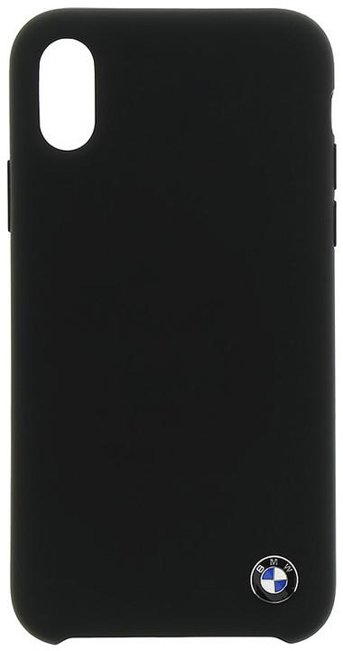 BMW TPU Silicone zadní kryt pro iPhone X, černý