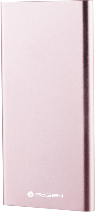 GoGEN power bank 5000 mAh PB50001PW, růžová