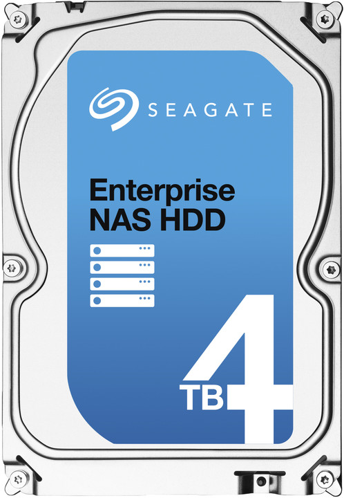 Seagate Enterprise NAS - 4TB + Rescue