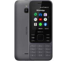 Nokia 6300 4G, Dual SIM, Charcoal - 16LIOB01A02