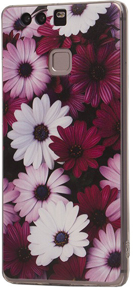EPICO pružný plastový kryt pro Huawei P9 VIOLET FLOWERS
