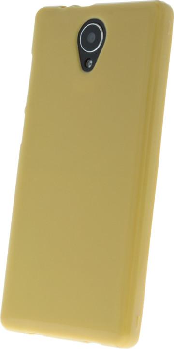 myPhone silikonové (TPU) pouzdro pro FUN LTE, žlutá