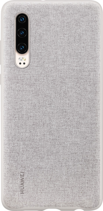 Huawei Original PU pouzdro pro P30, šedá