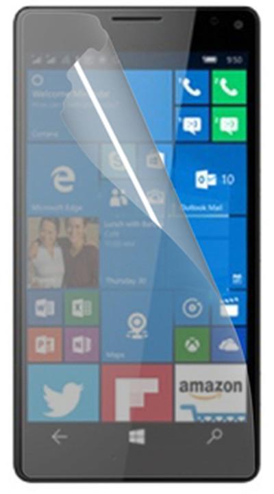 CELLY ochranná fólie displeje pro Microsoft Lumia 950 XL, lesklá, 2ks