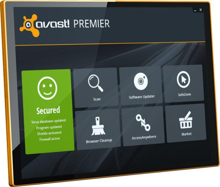 Avast Premier, 1 uživatel (24 měs.) prodloužení
