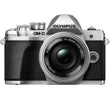 Olympus E-M10 Mark III + ED 14-42mm EZ, stříbrná  + objektiv Olympus M. ZUIKO DIGITAL 45mm f/1.8, černá v hodnotě 8 499 Kč