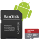 SanDisk Micro SDHC Ultra Android 32GB 98MB/s A1 UHS-I + SD adaptér
