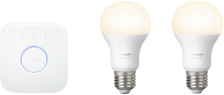 Philips Hue White 9.5W E27 starter kit