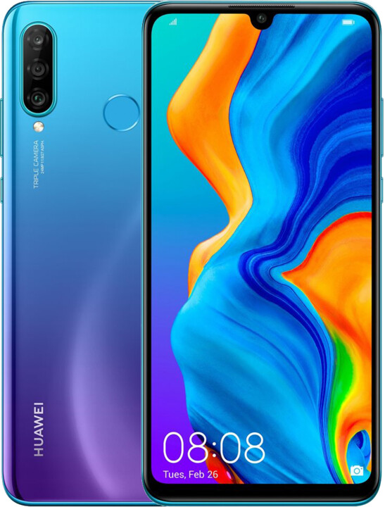 Huawei P30 Lite New Edition, 6GB/256GB, Blue