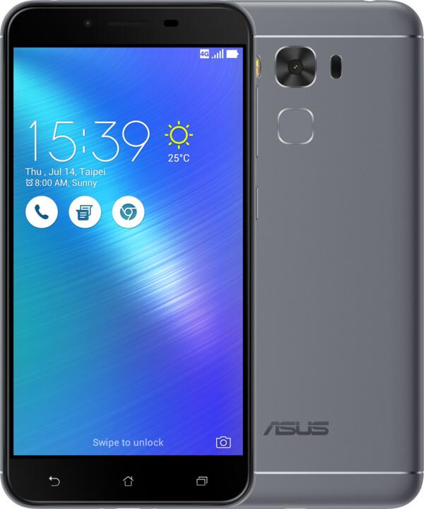 ASUS ZenFone 3 Max ZC553KL-4H033WW, šedá